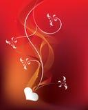 καρδιά λουλουδιών ελεύθερη απεικόνιση δικαιώματος