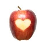 καρδιά μήλων Στοκ εικόνες με δικαίωμα ελεύθερης χρήσης