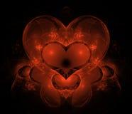καρδιά μαγική Στοκ Εικόνα