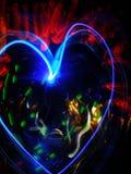 καρδιά μαγική Στοκ φωτογραφίες με δικαίωμα ελεύθερης χρήσης
