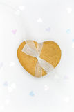 καρδιά μελοψωμάτων στοκ φωτογραφία με δικαίωμα ελεύθερης χρήσης