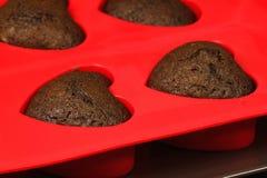 καρδιά μπισκότων Στοκ Εικόνα
