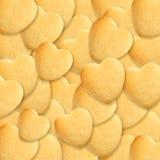 καρδιά μπισκότων Στοκ Φωτογραφία