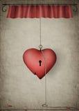 καρδιά μόνη Στοκ φωτογραφίες με δικαίωμα ελεύθερης χρήσης