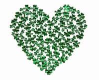 καρδιά Πάτρικ s ST ημέρας Στοκ Φωτογραφία