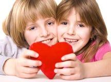καρδιά παιδιών Στοκ φωτογραφία με δικαίωμα ελεύθερης χρήσης