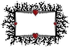καρδιά πλαισίων ελεύθερη απεικόνιση δικαιώματος