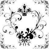 καρδιά πλαισίων vectorized Στοκ Εικόνα