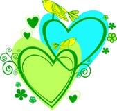 καρδιά πουλιών ελεύθερη απεικόνιση δικαιώματος
