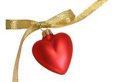 καρδιά που απομονώνεται Στοκ Φωτογραφίες