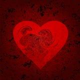 καρδιά που διακοσμείτα&iot Στοκ φωτογραφία με δικαίωμα ελεύθερης χρήσης