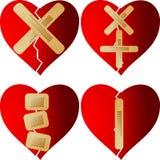 καρδιά που επιδιορθώνεται Στοκ φωτογραφία με δικαίωμα ελεύθερης χρήσης