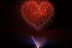καρδιά πυρκαγιάς Στοκ Εικόνα