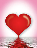 καρδιά ρωμανική Στοκ φωτογραφίες με δικαίωμα ελεύθερης χρήσης