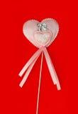 Καρδιά σε ένα ραβδί Στοκ εικόνα με δικαίωμα ελεύθερης χρήσης