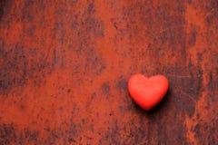 καρδιά σκουριασμένη Στοκ εικόνες με δικαίωμα ελεύθερης χρήσης