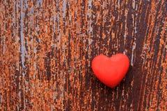 καρδιά σκουριασμένη Στοκ Φωτογραφία