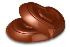 καρδιά σοκολάτας απεικόνιση αποθεμάτων