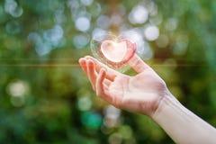 Καρδιά στη διάθεση στοκ εικόνες