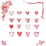 καρδιά στοιχείων σχεδίο&ups ελεύθερη απεικόνιση δικαιώματος