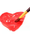 καρδιά σχεδίων Στοκ φωτογραφίες με δικαίωμα ελεύθερης χρήσης