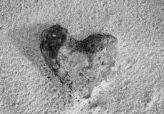 Καρδιά της πέτρας στοκ εικόνες με δικαίωμα ελεύθερης χρήσης