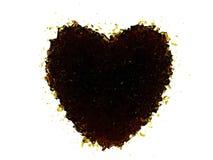 Καρδιά του κόκα κόλα Στοκ φωτογραφία με δικαίωμα ελεύθερης χρήσης