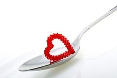 Καρδιά των χαντρών στοκ εικόνες με δικαίωμα ελεύθερης χρήσης