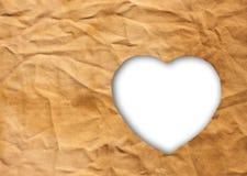 καρδιά υφασμάτων που διαμορφώνεται Στοκ φωτογραφία με δικαίωμα ελεύθερης χρήσης