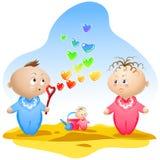 καρδιά φυσαλίδων που δι&alp ελεύθερη απεικόνιση δικαιώματος