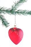Καρδιά Χριστουγέννων Στοκ Φωτογραφίες
