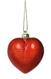 καρδιά Χριστουγέννων Στοκ εικόνες με δικαίωμα ελεύθερης χρήσης