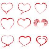 Καρδιά-01 διανυσματική απεικόνιση