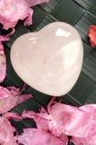 καρδιά 2 κρυστάλλου Στοκ φωτογραφίες με δικαίωμα ελεύθερης χρήσης