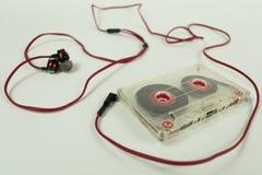 Καρδιά Cassete των ακουστικών Στοκ εικόνα με δικαίωμα ελεύθερης χρήσης