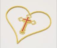 καρδιά kross Στοκ φωτογραφίες με δικαίωμα ελεύθερης χρήσης
