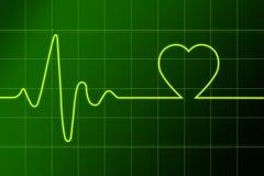 καρδιά ritm απεικόνιση αποθεμάτων