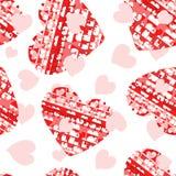 καρδιές άνευ ραφής Στοκ φωτογραφία με δικαίωμα ελεύθερης χρήσης