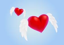 Καρδιές αγάπης Στοκ εικόνες με δικαίωμα ελεύθερης χρήσης