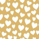 καρδιές ανασκόπησης άνευ ραφής Στοκ φωτογραφία με δικαίωμα ελεύθερης χρήσης