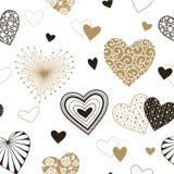 καρδιές ανασκόπησης άνευ & Στοκ εικόνες με δικαίωμα ελεύθερης χρήσης
