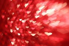 καρδιές ανασκόπησης Στοκ Εικόνες