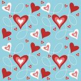 καρδιές ανασκόπησης Απεικόνιση αποθεμάτων
