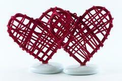 Καρδιές αχύρου Στοκ φωτογραφία με δικαίωμα ελεύθερης χρήσης
