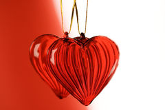 Καρδιές βαλεντίνου Στοκ φωτογραφίες με δικαίωμα ελεύθερης χρήσης
