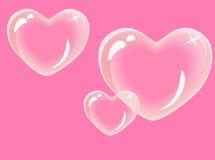 καρδιές γυαλιού Στοκ φωτογραφία με δικαίωμα ελεύθερης χρήσης