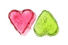 καρδιές δύο Στοκ Εικόνες