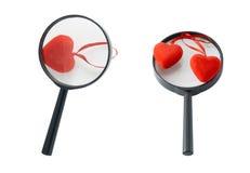 Καρδιές και Στοκ φωτογραφία με δικαίωμα ελεύθερης χρήσης