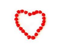 καρδιές κανέλας στοκ φωτογραφίες με δικαίωμα ελεύθερης χρήσης