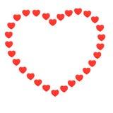 καρδιές καρδιών μια Στοκ φωτογραφία με δικαίωμα ελεύθερης χρήσης